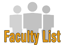 Faculty List